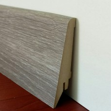 Плинтус МДФ Super Profil (Супер Профиль) ПП 1682 Дуб Сонома Серый