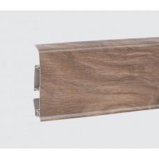 Плинтус Korner EVO (Корнер ЭВО) 70 Modern Collection Сандаловое дерево 25-70-0-004